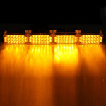 12V 22x4 LED Flash Amber Emergency Lys Advarsel Advarselsblinking Auto Lamp Bilbelysning