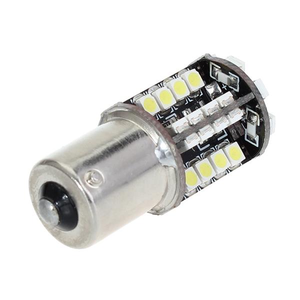 12V 4W 3528 44PCS LED Car Light Bulb White+Warm White Car Lights