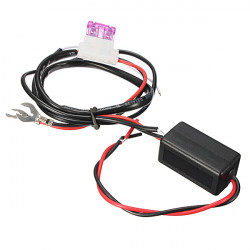 12V Bil LED Running Lys Relay Harness DRL Controller On / Off Switch