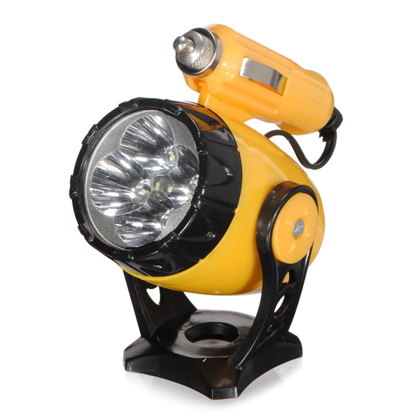 12V Car Mini Magnetic Spotlight Warning Light  Auto Emergency Light Car Lights