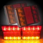 12V LED Van Lastbil Markeringslygte Bremselys Indicator Lamp Bilbelysning