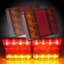 12V LED Van Lastbil Markeringslygte Bremselys Indicator Lamp