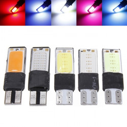 12V T10 W5W LED Car Interior Wedge COB Width Bulb Light Side Lamp