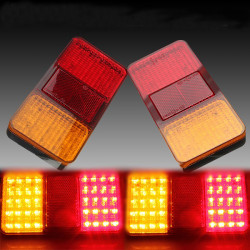 12V Truck 40Led Rear Light Stop Indicator Tail Lamp Taillight