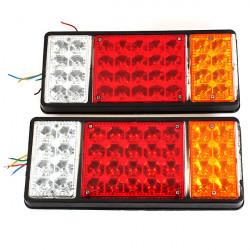 12V Lastbil Baglygte Pærer LED Electronic Rear Lys Rail Network Baglygte
