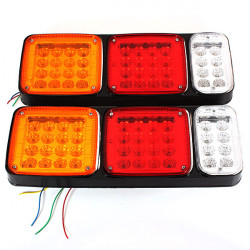 12v LED Tail Stop Lamps Indicator Reverse Lights Trailer Car Truck Bus