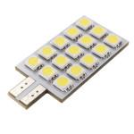12v T10 5050 15 Bil LED Interiör Wedge Ljus Bulb Bilbelysning
