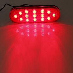15 LED Car Rear Strobe Tail Brake DRL Stop Light Fog Flashing Lamp