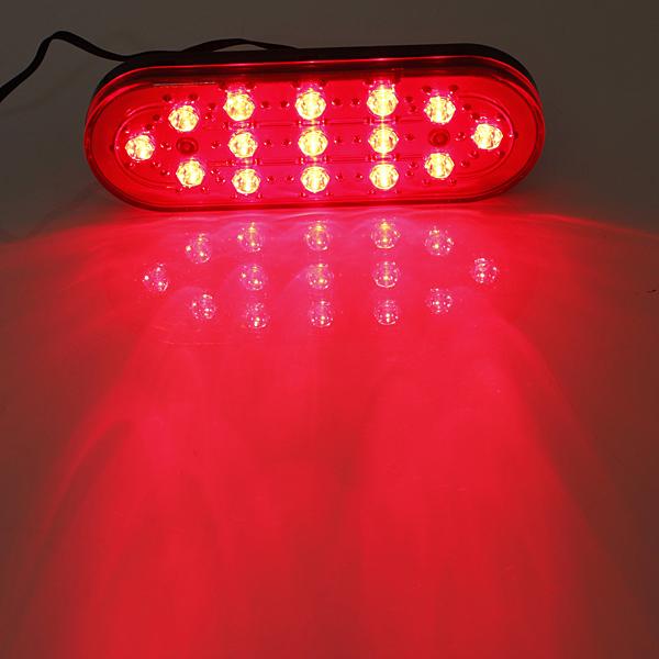 15 LED Auto hinten Strobe Endstück Bremsen DRL Stop Licht Nebel Lampe blinkt Autobeleuchtung