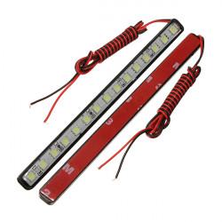 15 Led DRL Vit Fordon LED DRL Ljus Smart Storlek