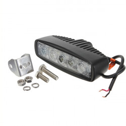 15W 5LED Spot work Lamp Light Offroads For Trailer Off Road Boat