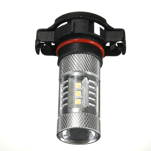 15W LED 5202 H16 Projektor Bil Bulb Dimljus DRL Ljus Lampa Bilbelysning