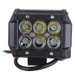 18W Auto 6LED Arbeits Licht Scheinwerfer Helle Projektor Lampe Autobeleuchtung