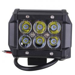 18W Bil 6LED Arbetsbelysning Spotlight Bright Projektorlampa