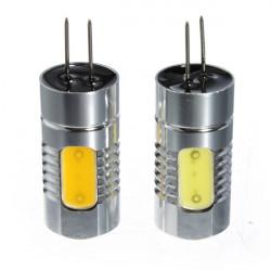 1Pcs G4 4.5W COB LED Car RV Boat Bulb Lamp Warm/Cool White Light