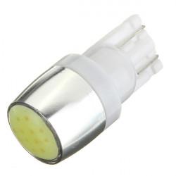 1pc T10 W5W 1 LED COB SMD Bright Hvid Bil Wedge Side Lys Pæree