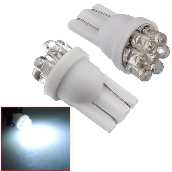 1 Stück 194 501 T10 W5W Kraft 7 LED Birnen weiße Lampe New Autobeleuchtung