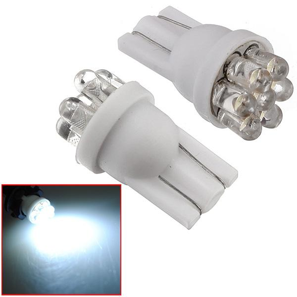 1 pcs 194 501 T10 W5W Power 7 LED Bulb White Lamp New Car Lights