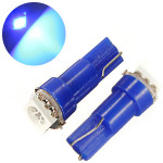 1 x Blue 37 58 70 73 74 T5 Dashboard Gauge LED Wedge Bulb Light DC 12V Car Lights