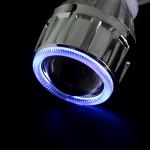 2.5HQ Projektor Objektiv Blau Weiß Rot Grün Gelb Purplee Winkel Augen Autobeleuchtung