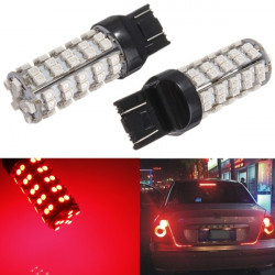 2.5W DC12V 3528 68 LED SMD Red Brake Stop Ljus Bulb
