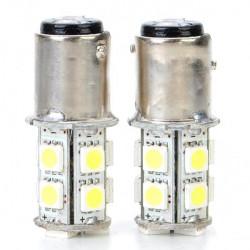 2.6W 130LM 5050 13 SMD LED Light Car Brake Turning Reverse Light Bulb