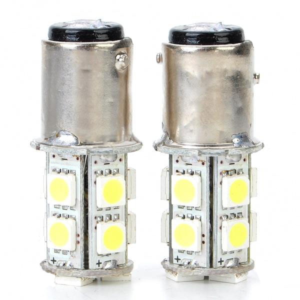 2.6W 130LM 5050 13 SMD LED Light Car Brake Turning Reverse Light Bulb Car Lights