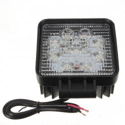 27W 9 LED Vitt Spot Pencil Offroad Lampa Lätt Lastbil 4WD 4x4