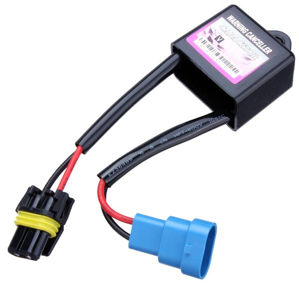 2 Stück C6 HID Warnung Canceller Kondensator HID Xenon Licht Decoder Autobeleuchtung