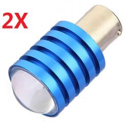 2X 1156/Ba15s Cree Q5 High Power 7W LED Reverse Lights