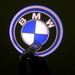 2 X Cree LED Car Door Laser Welcome Lights for BMW