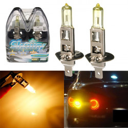 2X H1 Ultra 5900K Car Fog Light Xenon Gas Halogen Headlight Bulb