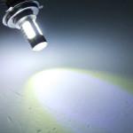 2X H4 9003 HB2 7,5 W Bil Tail Dimljus Driving LED-lampa Omgång Ljuss Bilbelysning
