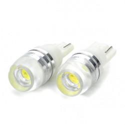 2 X New T10 1.5W 6000 ~ 6500K Auto weiße LED Leuchtdioden