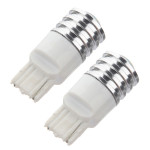 2 X T20 7440 7441 992A 7W LED Cree Q5 Single Filament Bil Lys Bulb Bilbelysning