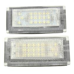 2stk 18 LED Lizenz nubmer Kennzeichen Lichter Lampe für Mini Cooper S R50