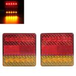 2x 10LED Anhänger LKW Ute Stop Rückseiten Endstück Anzeigelampe mit E Prüfzeichen Autobeleuchtung