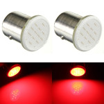 2 X 12V 1157 BAY15D 12 SMD COB Red Bil Brake Parking Ljus Bulbs Bilbelysning