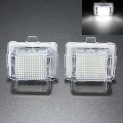2x 18 SMD LED Lizenz Kennzeichenleuchte für Benz W204 W221 W212 W216