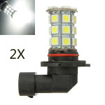2 x 4.5W 27SMD 5050 Birnen 9005 HB3 Nebel Tagespositionslampe 270 300LM Autobeleuchtung