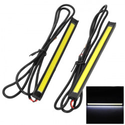 2x 6W 8000K LED SMD White Light Car Daytime Running Lights
