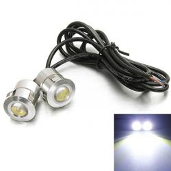 2 X 9W LED Eagle Eye Bil Back Up Omvänd Baklyktor