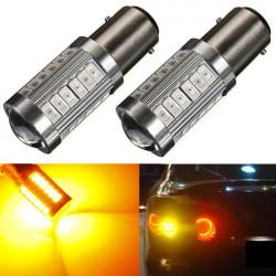 2 x BAY15D 1157 5630-33SMD-LED Turn Brake Tail Rear Light Bulbs