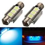 2 x Canbus fehlerlose 3 SMD LED Auto Nummernschild Glühbirnen Autobeleuchtung