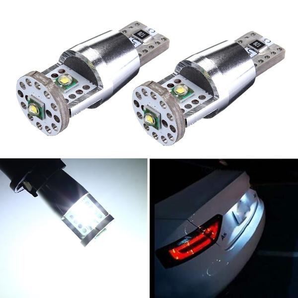 2 X Cree 15W T10 W5W Vit CANBUS Ingen Felfri Interiör LED Lampor Bilbelysning