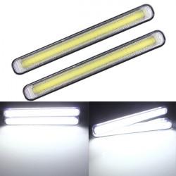2x Varselljus COB 99 LED DRL Super Dimljus Driving Lampor