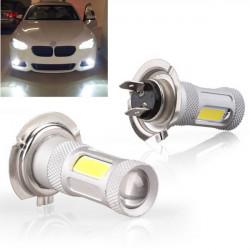 2 x H7 80W Cree LED Auto Nebelschlussleuchte Fernlicht DRL Birnen