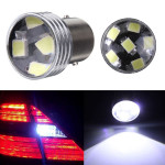 2 x HID White 1156 P21W 6-2835SMD LED Projector Backup Reverse bulbs Car Lights