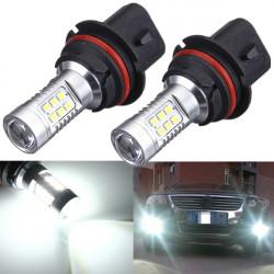 2 x HID White High Power 9004 HB1 Headlight Low Beam Headlamps