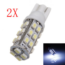 2 X T10 194 168 501 921 W5W 28 LED 3020 SMD Bil Lyspærer